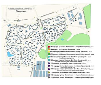 Схема движения городского транспорта в севастополе
