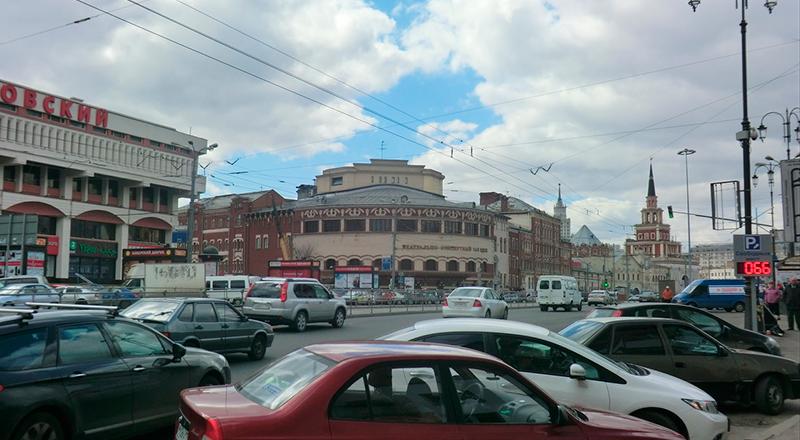 Схема проезда к Центральному