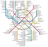 Схема метро ст.беляево